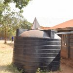 The Water Project: Kyanzasu Secondary School -  Plastic Tank