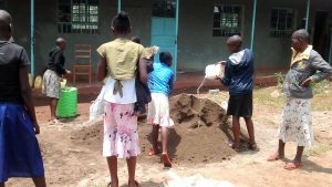 The Water Project:  Students Delivering Water