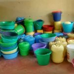 The Water Project: Malinya Girls Secondary School -  Water Containers