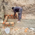 The Water Project: Mukhuyu Community, Shikhanga Spring -  Construction