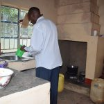 The Water Project: Kasioni Community A -  Kitchen
