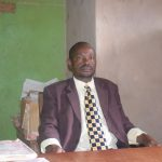 The Water Project: Kyanzasu Primary School -  Headteacher Daniel Mutinda