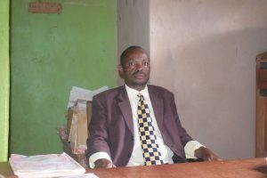 The Water Project:  Headteacher Daniel Mutinda
