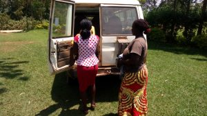 The Water Project:  We Were Thankful For Our Vehicle To Help Us Get To The Spring
