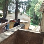 The Water Project: Friends Emanda Secondary School -  Latrine Maintenance Training