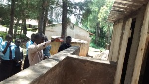 The Water Project:  Latrine Maintenance Training