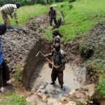 The Water Project: Timbito Community, Wakamu Spring -  Excavation