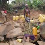 The Water Project: Mitini Community -  Current Water Source
