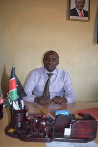 The Water Project:  Headteacher Geoffrey Mbaluto