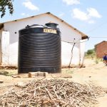 The Water Project: Kivani Primary School -  Plastic Tank