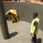 The Water Project: Mwiyenga Primary School -  Tank Construction