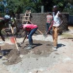 The Water Project: Lelmokwo Boys' Secondary School -  Tank Construction