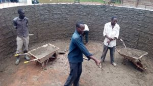 The Water Project : 10-kenya4683-tank-construction