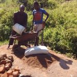 The Water Project: Shiamboko Community, Oluchinji Spring -  Delivering Local Materials