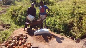 The Water Project : 10-kenya4732-delivering-local-materials-2