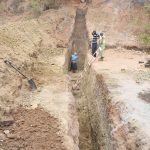 The Water Project: Muselele Community -  Trenching