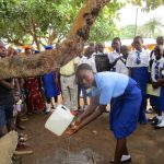 The Water Project: Kulufai Rashideen Secondary School -  Hand Washing Training