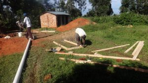 The Water Project:  Latrine Door Frames