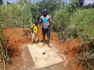 The Water Project : 12-kenya4729-sanitation-platform