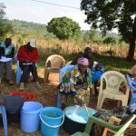 The Water Project: Kathama Community -  Making Soap