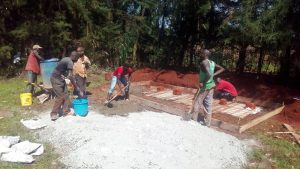 The Water Project : 13-kenya4683-latrine-construction