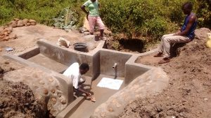The Water Project : 13-kenya4732-plastering-2
