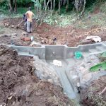 The Water Project: Lutonyi Community -  Construction