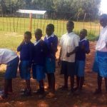 The Water Project: Mwiyenga Primary School -  Hand Washing Station