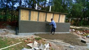 The Water Project : 14-kenya4683-latrine-construction