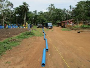The Water Project : 14-sierraleone5130-measuring-casing