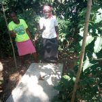 The Water Project: Shiamboko Community, Oluchinji Spring -  Sanitation Platform