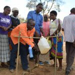 The Water Project: Kithuluni Community A -  Hand Washing Station