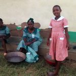 The Water Project: Ebusiratsi Special Primary School -  Students Washing Clothes
