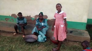 The Water Project:  Students Washing Clothes