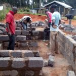 The Water Project: Lelmokwo Boys' Secondary School -  Latrine Construction