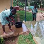 The Water Project : 16-kenya4843-student-washing-floor