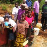 The Water Project: Futsi Fuvili Community, Futsi Fuvili Spring -  Clean Water