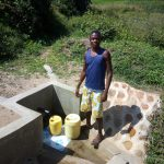 The Water Project: Shiamboko Community, Oluchinji Spring -  Clean Water