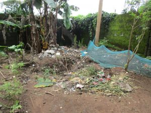 The Water Project:  Garbage Area
