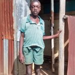 The Water Project: Ebusiratsi Special Primary School -  Student Posing At Latrine