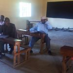 The Water Project: Shibale Primary School -  Meeting With Staff