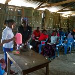The Water Project: Shiamboko Community, Oluchinji Spring -  Hand Washing Session