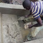The Water Project: Mwiyala Community, Benard Spring -  Spring Construction