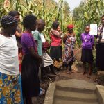The Water Project: Mwiyala Community, Benard Spring -  Spring Demos