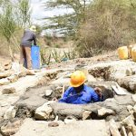 The Water Project: Kathama Community A -  Well Construction