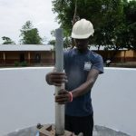 The Water Project: Kulufai Rashideen Secondary School -  Pump Installation