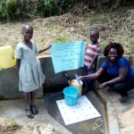 The Water Project: Handidi Community, Matunda Spring -  Thank You