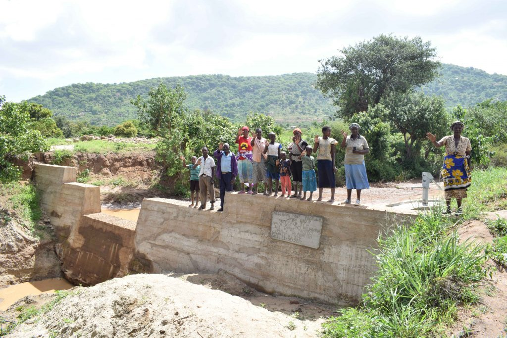 The Water Project : 26-kenya4769-finished-sand-dam