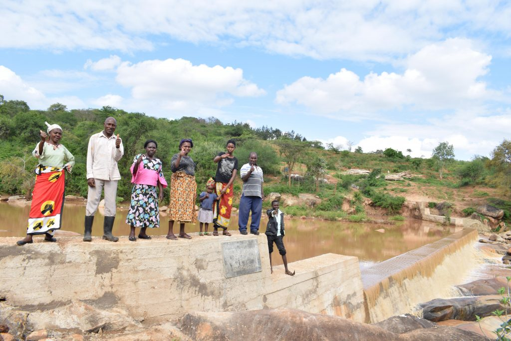 The Water Project : 28-kenya4771-finished-sand-dam