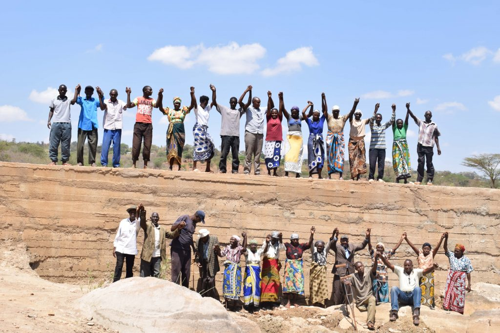 The Water Project : 29-kenya4762-finished-sand-dam